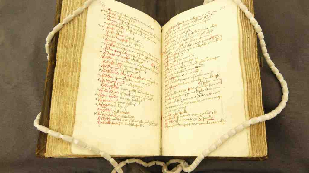 The Catholicon Anglicum, a 15th-century English-Latin dictionary (c) British Library Board