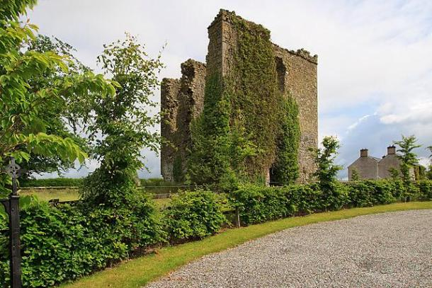 Coolbanagher Castle - image courtesy Laois Archaeology/Robert Chapple