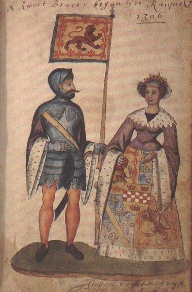 Robert Bruce and Elizabeth De Burgh