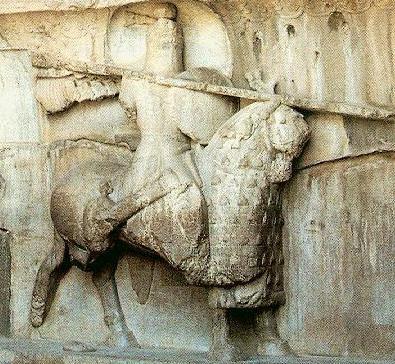 Armed-horseman - Late Roman Empire