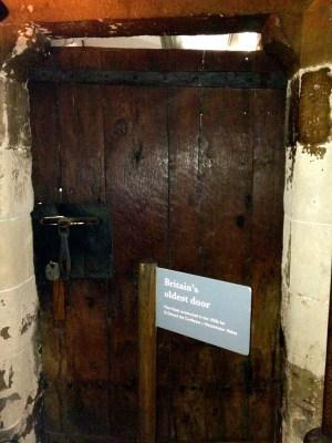 Britain's Oldest Door - Westminster Abbey
