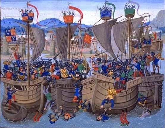 Medieval Naval Battle