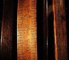 Primstav - Runic Calendar - Museum of History in Lund, Sweden.