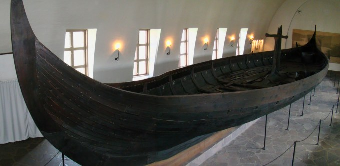 Gokstad Viking Ship - Side View
