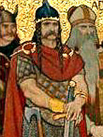 King Cinaed mac Ailpín (Kenneth Mac Alpin - King of the Picts
