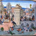 The Image of the City in Peace and War in a Burgundian manuscript of Jean Froissart's Chronicles
