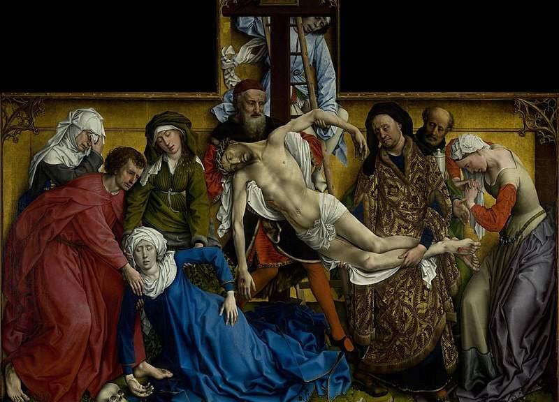 El Descendimiento, by Rogier van der Weyden (1400-1464)