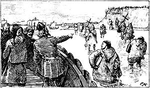 Haakon Jarl (Haakon Sigurdsson) was given missionaries by the king of Denmark, but before departure, Haakon sent the missionaries back.