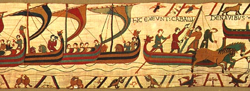 Bayeaux Tapestry - ships