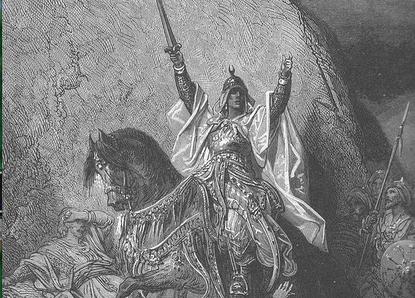 Saladin -  by Gustave Doré