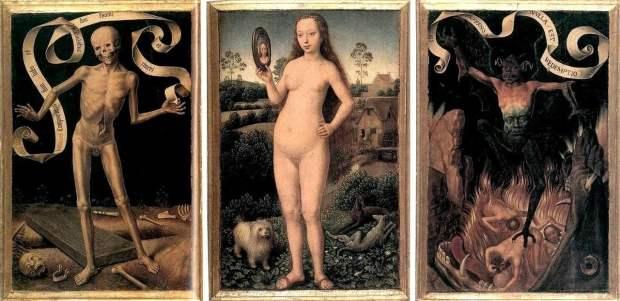 Vanity and Salvation Hans Memling 1433 - 1494