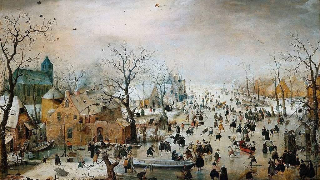Winter landscape (1608) Hendrick Avercamp
