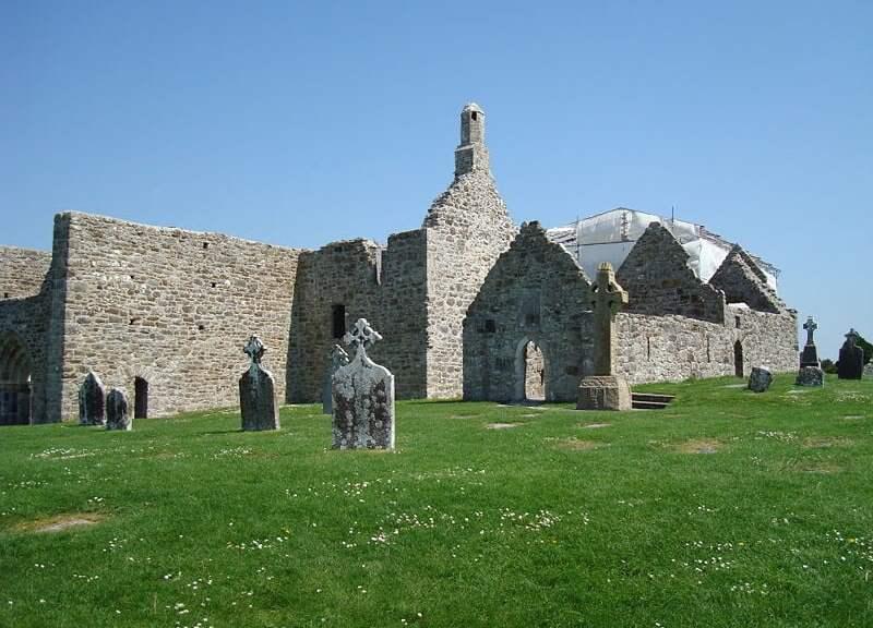 Clonmacnoise Monastery (Leinster, Ireland)