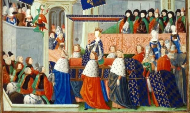 Isabeau of Bavaria entry to Paris