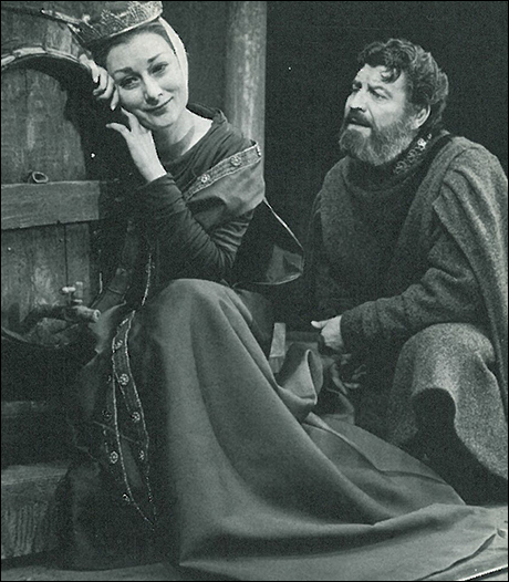 eleanor of aquitaine played by Rosemary Harris