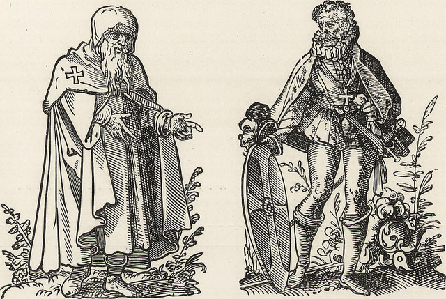 Military and religious life in the Middle Ages and at the period of the Renaissance (1870)