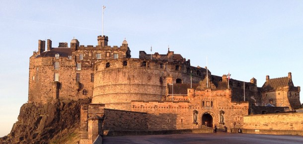 Edinburgh Castle - photo by Keith/Flickr
