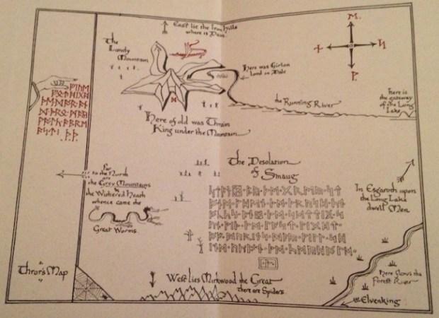 the-hobbit-map