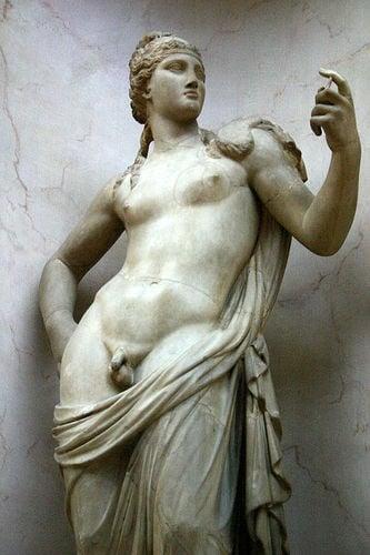 Statue of Hermaphrodite - Louvre