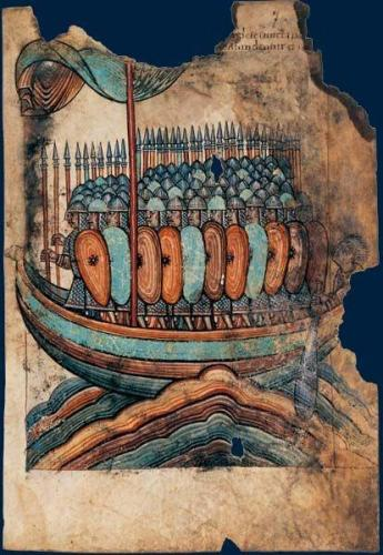 911 Viking invasion of Normandy
