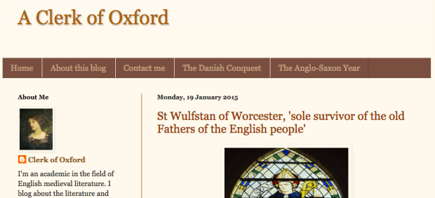 A Clerk of Oxford