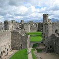 Archaeological discoveries uncovered at Caernarfon Castle in Wales