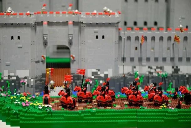 Lego Castle - photo by Eric at the NJ Brick Fair 2014