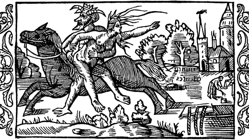 Olaus Magnus Historia om de nordiska folken. Bok 3 - Kapitel 21 (On the Punishment of Witches) 1555.