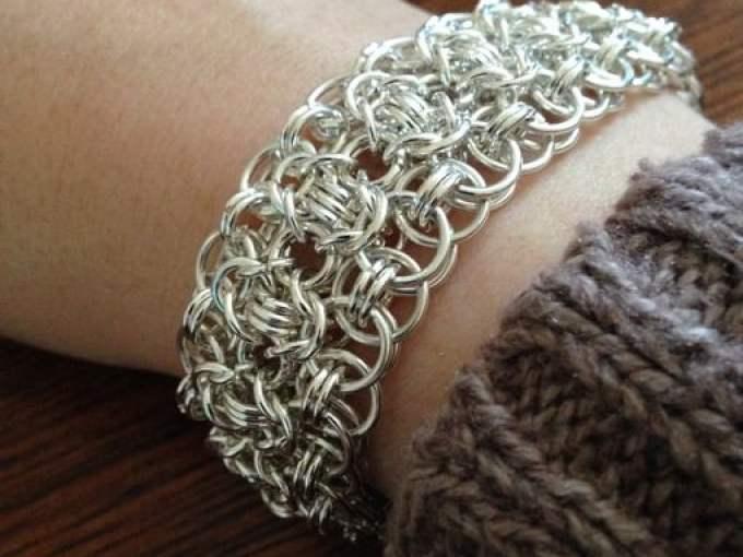 bracelet on arm - - photo by Daniele Cybulskie