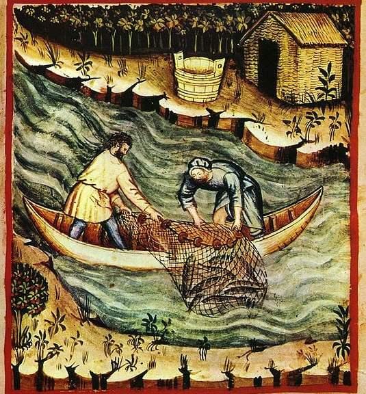 Medieval fishermen