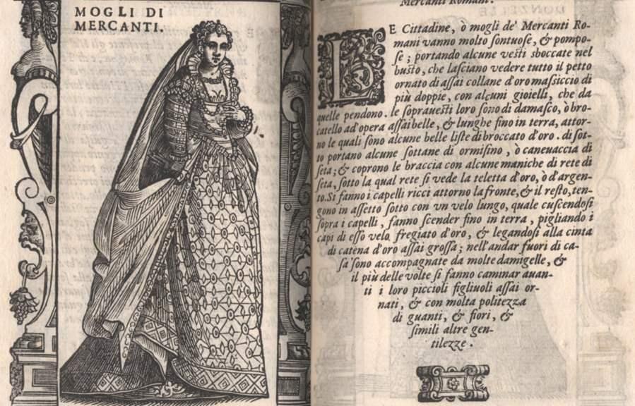 Cesare Vecellio's Venetian fashion