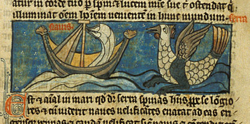 Sawfish - British Library MS Sloane 278  f.51