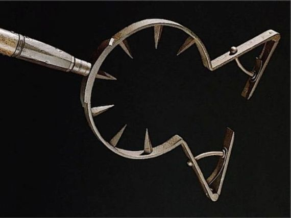 Top 10 strange weapons of the middle ages medievalists early modern man catcher wellcome images wikimedia commons altavistaventures Gallery