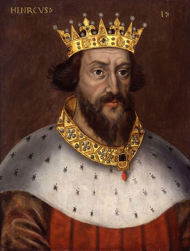 King Henry I - National Portrait Gallery, London. Artist Unknown.