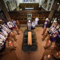 Richard III laid to rest at Leicester Cathedral