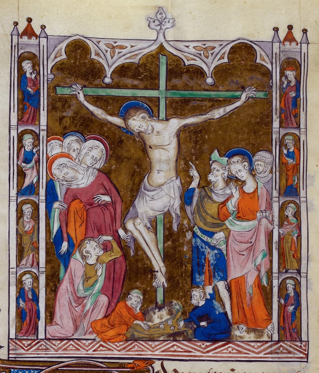 Crucifixion of Jesus in Medieval Art