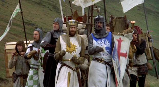 Favourite Scene from Monty Python and the Holy Grail