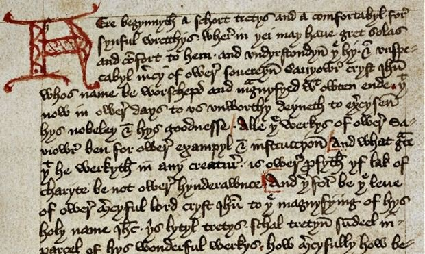 Margery Kempe's autobiography - British Library