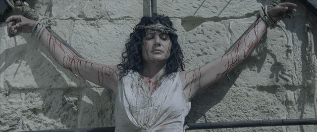 Katherine martyred on the wheel