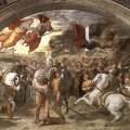 Why did Attila leave Italy?