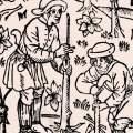 Ruralia Commoda – 14th century gardening manual on display in London