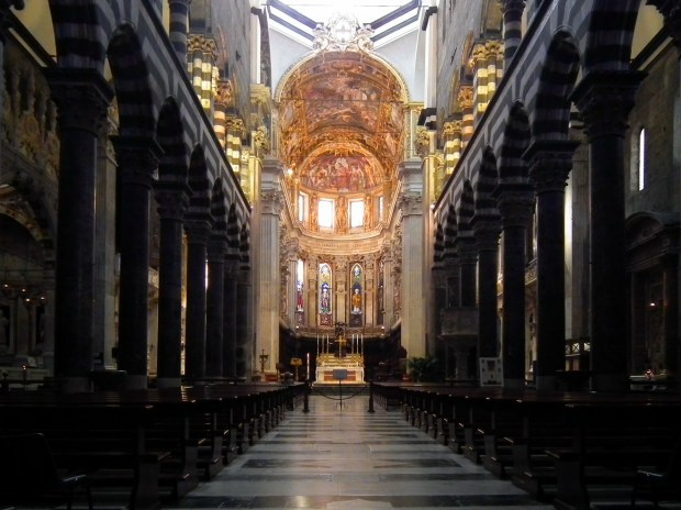Cathedral of San Lorenzo, Genova, Liguria, Italy. (Wiki Commons)