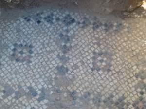Mosaic Floor - photo courtesy University of Hartford