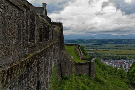 Stirling Castle Battlements - Photo by Dun Deagh / Flickr