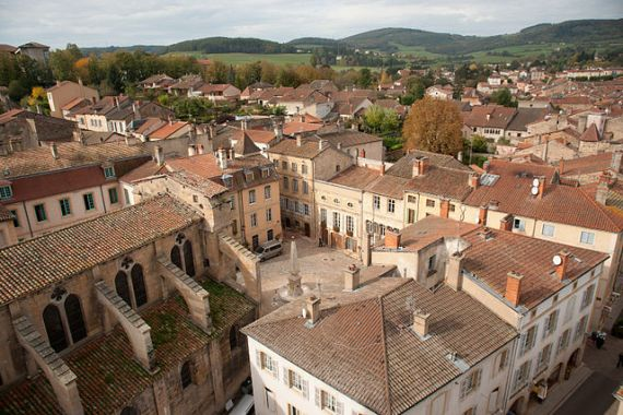 Town of Cluny - photo by Ludovic Péron / Wikimedia Commons