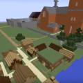 Medieval Oslo recreated on Minecraft