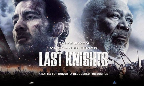 """Last Knights"" movie, starring Morgan Freeman and Clive Owen."