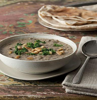 The Middle Eastern hangover cure - a steaming bowl of Kishkiyya. Photo by Sobur.co