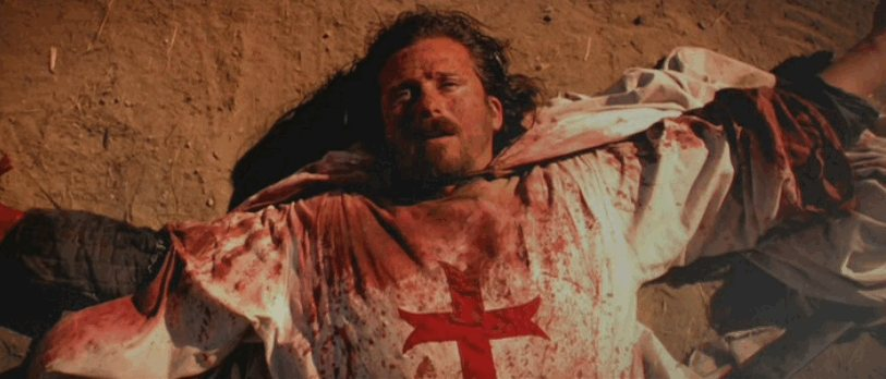 Soldier of God - Rene, a French Templar Knight who survives the Battle of Hattin. Played by Tim Abell.