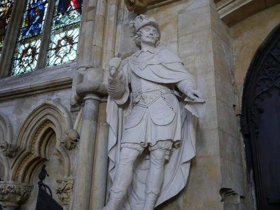 Statue of King Athelstan  Beverley Minster, Yorkshire. Photo by Smabs Sputzer / Flickr